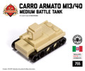 Micro Brick Battle - Carro Armato M13/40