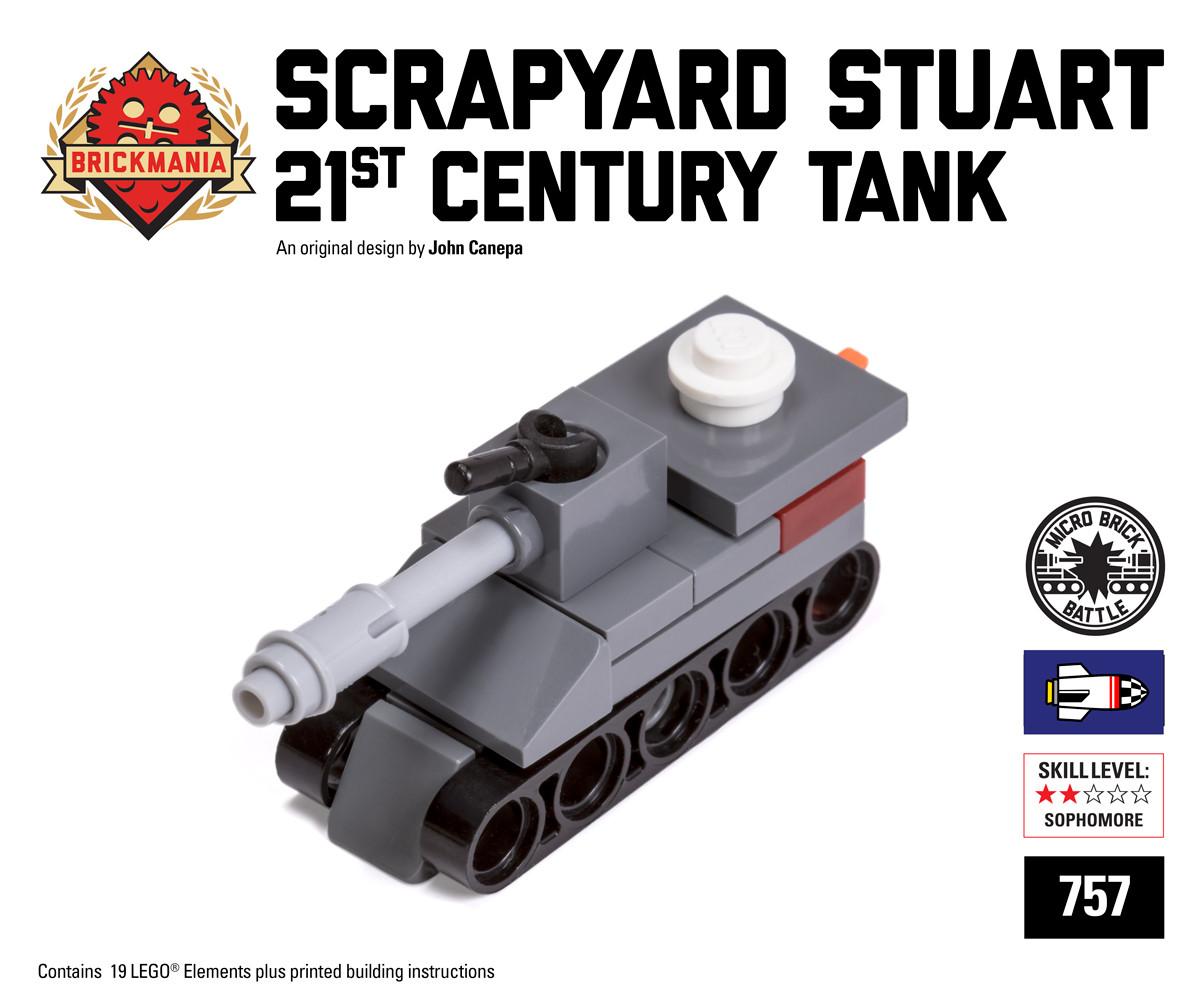 Scrapyard Stuart Micro-tank