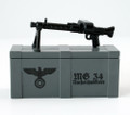 BrickArms MG34 and Printed Crate