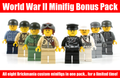 Brickmania World War II Minifigure Bonus Pack - Complete 2013 Collection