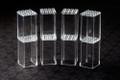 FaBiOX 4x4 studs (8 pack)-Transparent Boxes for Minifigures