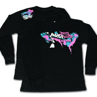 Naish 'Spray Paint' Long Sleeve T-Shirt