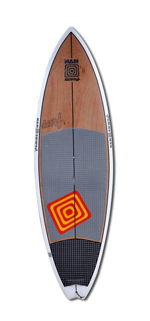 Nah Skwell 8'4 Surf Series Wood Deck