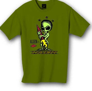 Naish Alien T-Shirt Green