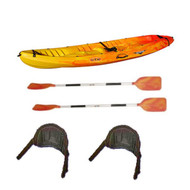 rtm ocean duo sit on top kayak package