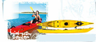 DAG Mid-Way SE Kayak with rod holders