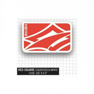 Naish red logo sticker
