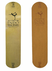 Wood and cork finishes to Indo Yoga Boards