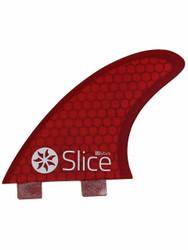Slice S3 Red Ultra light Hexel Core Fin
