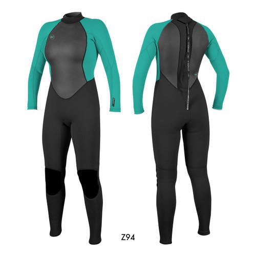 O'neill Womens Reactor Wetsuit 3 2mm Full Wetsuit