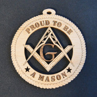 Proud to be a Mason Ornament