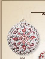 930 MRC - White background, red, black geometrical design