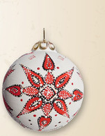 930 MS - White background, red, black geometrical design