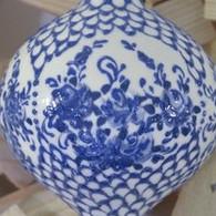 259 MR - Blue Lattice