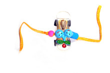 Car With Fruits Kids Rakhi Rakhi To India,USA America Buy Online Store-Free Shipping,Cheap Rates,Fast Delivery