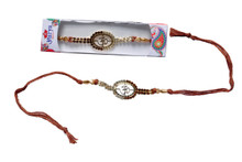 Graceful OM Rakhi Rakhi To India,USA America Buy Online Store-Free Shipping,Cheap Rates,Fast Delivery