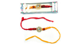 Astonishing Designer Mauli Thread Rakhi To India,USA America Buy Online Store-Free Shipping,Cheap Rates,Fast Delivery
