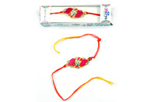 Colorful Stone Rakhi Rakhi To India,USA America Buy Online Store-Free Shipping,Cheap Rates,Fast Delivery