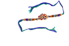 Colorful Kundan Peacock Rakhi Rakhi To India,USA America Buy Online Store-Free Shipping,Cheap Rates,Fast Delivery