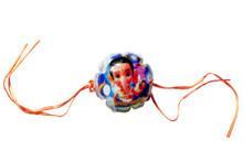Bal Ganesh Lighting Rakhi Rakhi To India,USA America Buy Online Store-Free Shipping,Cheap Rates,Fast Delivery