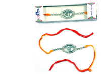 Sparkling Shree Rakhi Rakhi To India,USA America Buy Online Store-Free Shipping,Cheap Rates,Fast Delivery