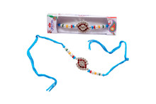 Colorful Diamond Rakhi Rakhi To India,USA America Buy Online Store-Free Shipping,Cheap Rates,Fast Delivery