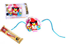 Angry Bird Rakhi With 5 Star Chocolate Rakhi To India,USA America Buy Online Store-Free Shipping,Cheap Rates,Fast Delivery