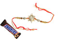 Tortoise Rakhi With Snickers