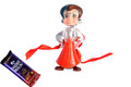 Chota Bheem Rakhi With Chocolate