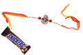 Lord Hanuman Rakhi With Snickers