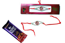 Shree Rakhi With Chocolate Rakhi To India,USA America Buy Online Store-Free Shipping,Cheap Rates,Fast Delivery