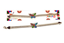 Silver Plated Butterfly Rakhi Rakhi To India,USA America Buy Online Store-Free Shipping,Cheap Rates,Fast Delivery