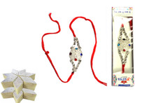 Cherishing Rakhi with Katlis Rakhi To India,USA America Buy Online Store-Free Shipping,Cheap Rates,Fast Delivery