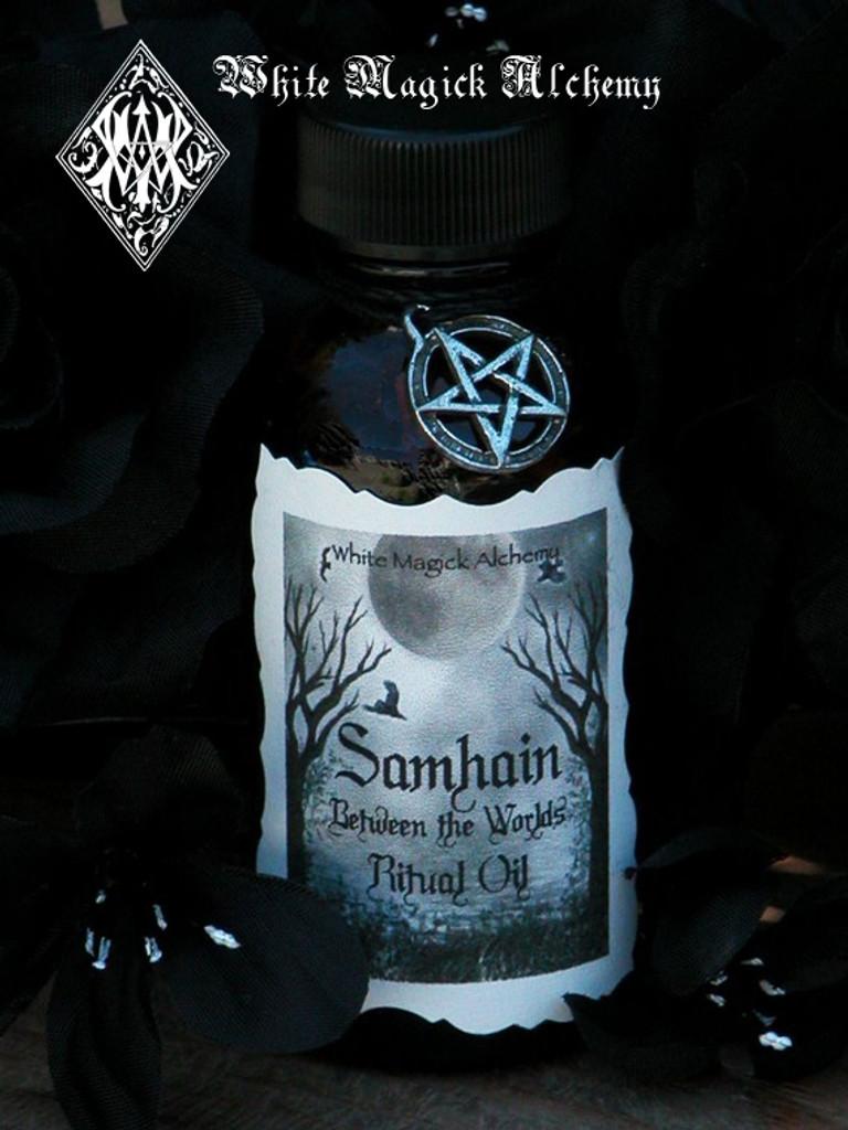 Samhain Between the Worlds Oil . Break thru the Veil, Seance, Otherworldly Spirit Workings