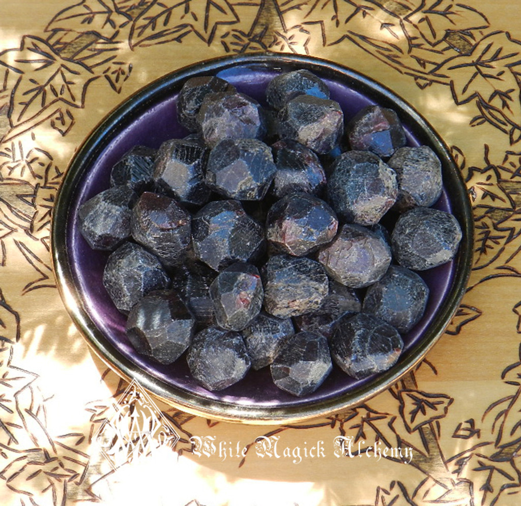 Almandine Garnet Medium Natural Gemstone for Love, Protection & Healing