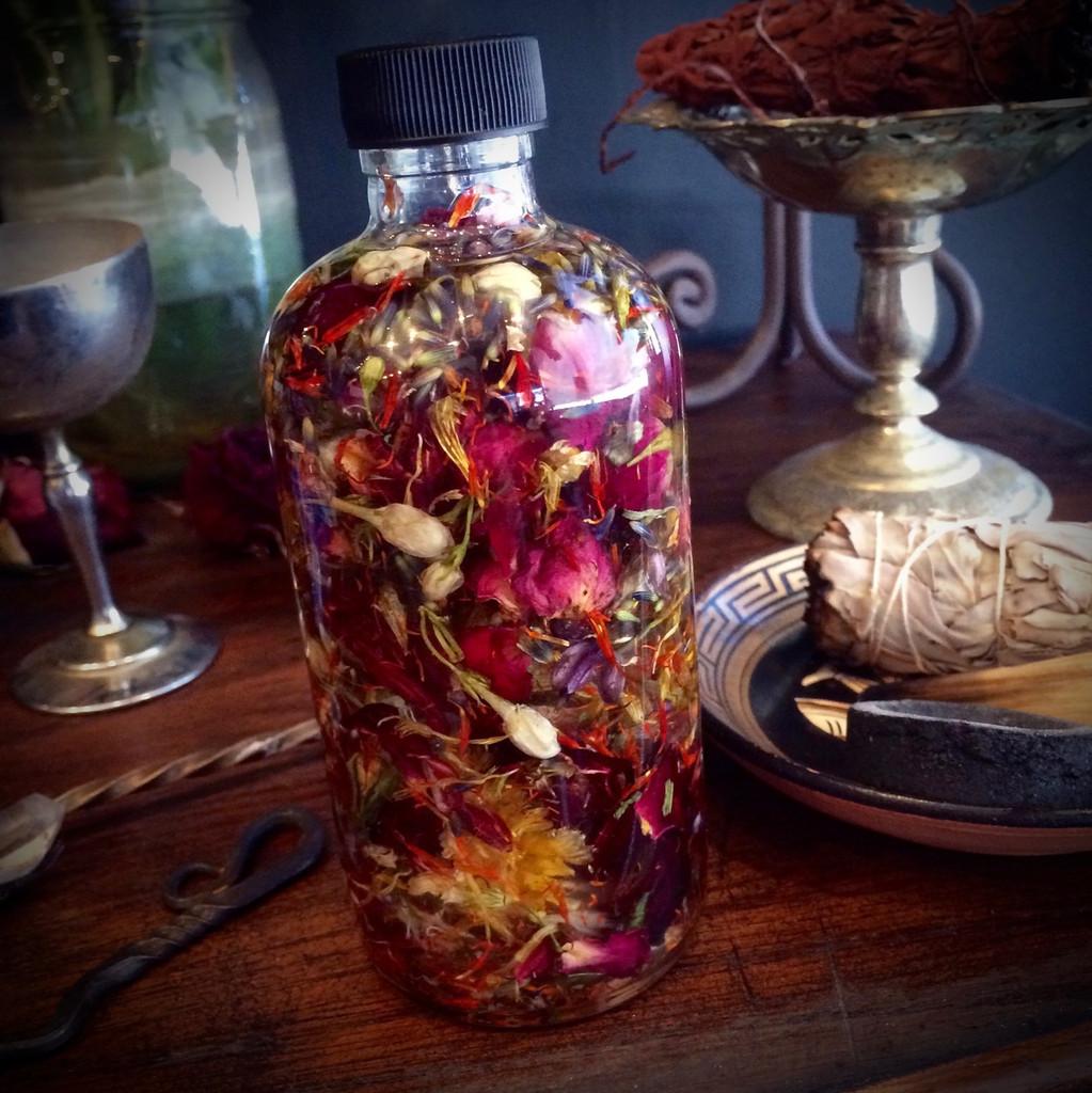Herbal magic oil