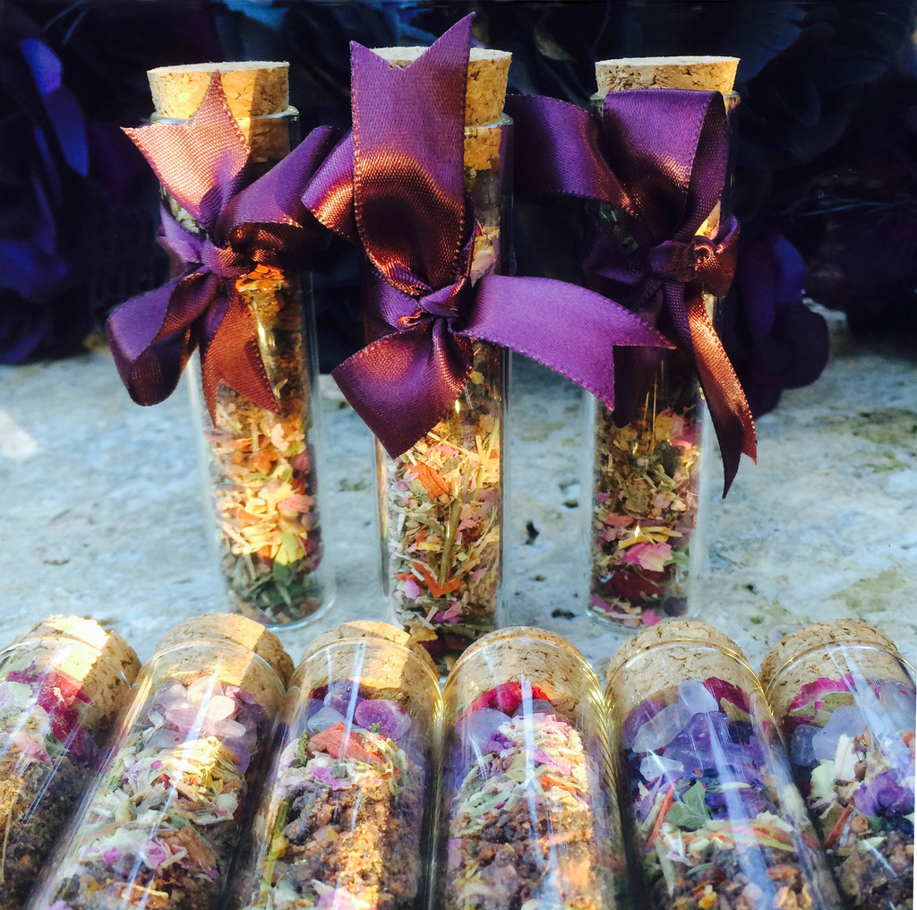 * Trinity Crystal Gemstone Incense Potion for Triple Goddess Workings