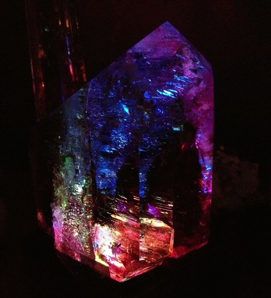 Light Display Base Fading Colors for Crystals