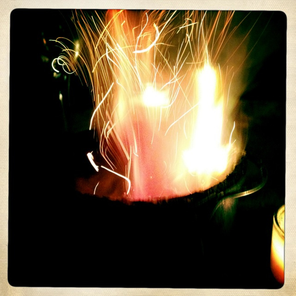 Magic Flash Sparking Spell Paper . Release your Intention to the Universe