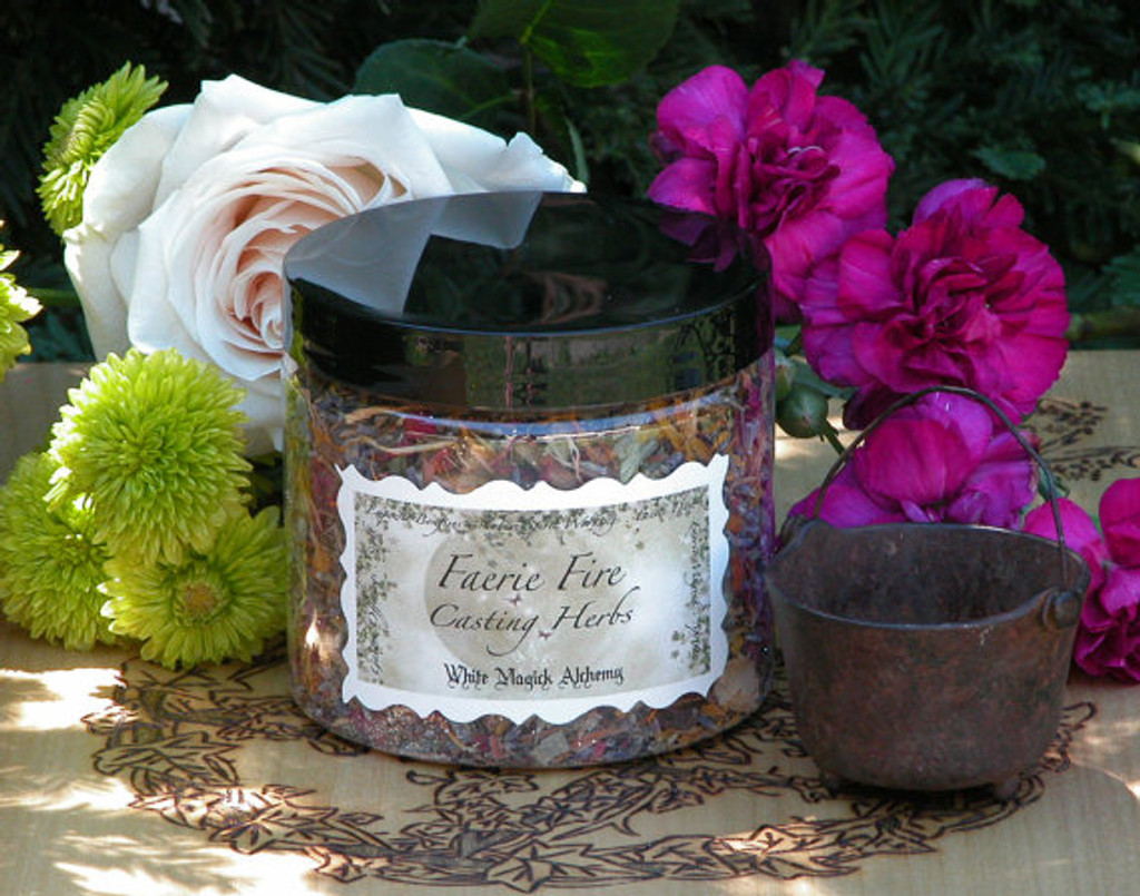 Faerie Fire Casting Herbs . Blessed Flora, Herbs, Sugared Faerie Dust