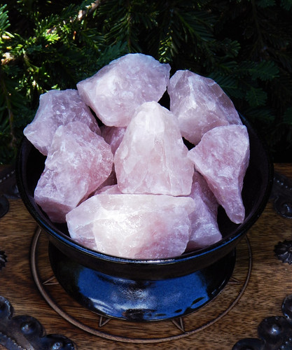 Rose Quartz Gemstone Natural Raw Pieces