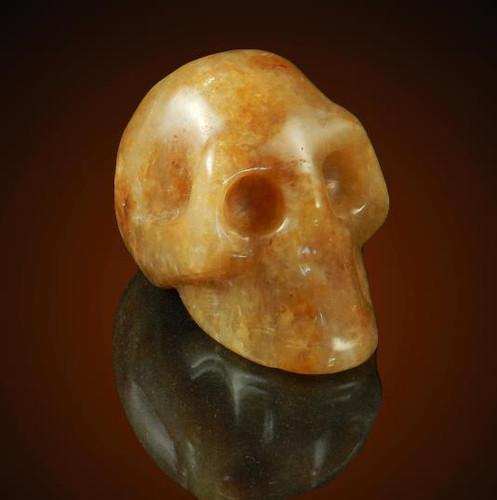 Dimension Jasper Gemstone Skull