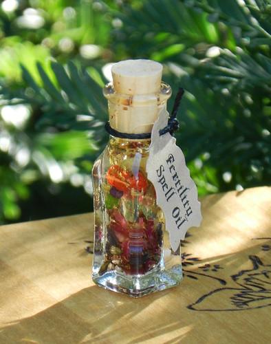 "*Brigids Blossoms Fertility Spell Oil ""Alchemist Tree"" . Fertility, Purity, Renewal, Reflection, Imbolc"