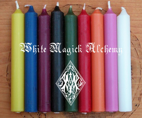 *Chime Candles Assorted Set of 6 ~ Choose Your Colors