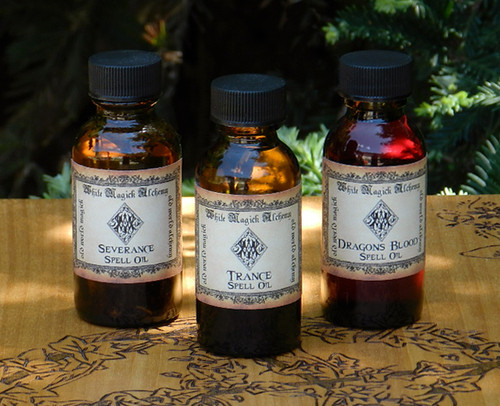 Spell Oils Old World Alchemy .50 Ounce . Choose your Intentions