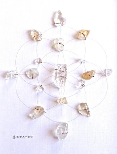 Money Crystal Grid