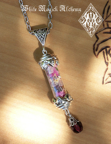 Magic Love Spell Alchemy Pendant Charm Necklace