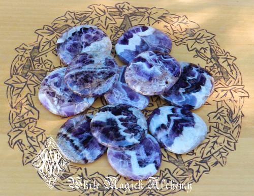 Amethyst Palm Stones