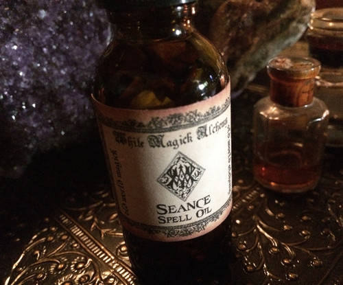 SEANCE Spell Oil . Otherworldly Ancestral Spirit Works, Summoning Spirits, Protection