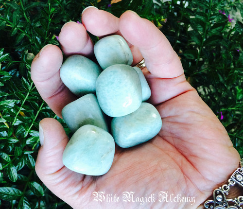Amazonite Tumbled Gemstones Large